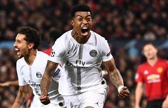 باريس سان جيرمان يتقدم بهدفين على مانشستر يونايتد في دوري أبطال أوروبا