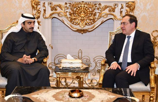 وزير البترول يبحث مع نظيره البحريني والكوت ديفواري التعاون المشترك صور -