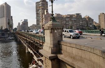 نائب محافظ القاهرة يتفقد أعمال تطوير كوبري الجلاء تمهيدا لافتتاحه