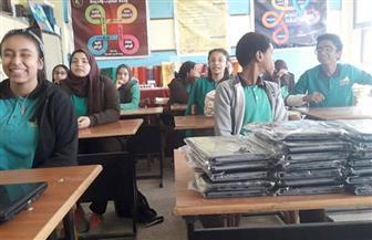 وكيل تعليم أسوان: تسليم 7 آلاف جهاز تابلت للإدارات التعليمية بأسوان| صور