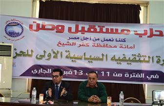 لليوم الثاني.. مستقبل وطن يواصل الدورة التثقيفية السياسية الأولى بمحافظة كفرالشيخ   صور