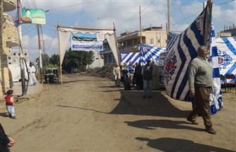 الكشف علي 1000 مواطن في قافلة مستقبل وطن في كفر تقي بدمياط| صور
