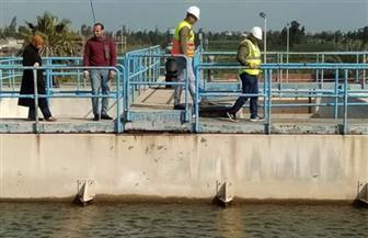 رئيسة مدينة الحامول تتابع تطوير ورفع كفاءة محطات مياه الشرب ومحطات المعالجة| صور