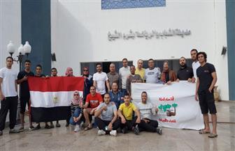 الاتحاد العربى يشارك فى تدريب الشباب بمعسكرات صديقة للبيئة بشرم الشيخ| صور