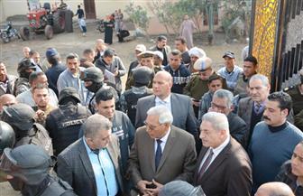 محافظ الدقهلية يطالب بتقرير هندسي حول المسجد المنهار بعزبة بسيوني