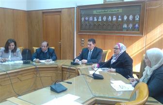 نائب رئيس جامعة عين شمس يترأس اجتماع مجلس كلية الألسن.. واختيار لجنة عميد الكلية   صور