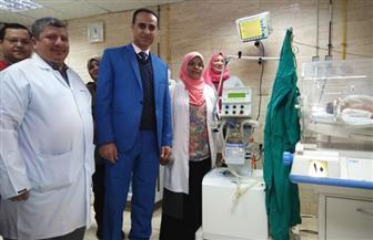تشغيل أول جهاز تنفس صناعي بقسم الحضانات بمستشفى سوهاج العام | صور
