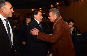 تكريم عزت العلايلي وبوسي وبشير وبدرخان في حفل جوائز السينما المصرية| صور