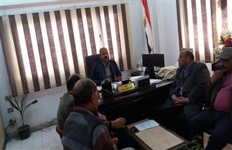 رئيس حي ثان المحلة يعقد اجتماعا مع المهندسين والفنيين للتصدي للبناء المخالف| صور