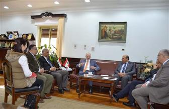 رئيس جامعة الإسكندرية يستقبل القنصل اللبناني لبحث تعزيز العلاقات الأكاديمية  صور
