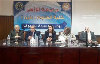رئيس جامعة الأزهر يفتتح دورة النشر العلمي التدريبية بالتعاون مع بنك المعرفة   صور