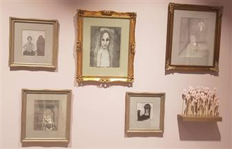 المرأة والجسد بعيدا عن الأيديولوجيا وبالقرب منها في لوحات هدى لطفى وشيرين جرجس   صور