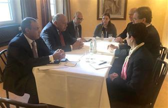 شكري يلتقي  بوفد اللجنة اليهودية الأمريكية في ميونخ | صور