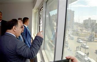 وزير المالية يشيد بالمجمع الإداري للتأمين الصحي ببورسعيد | صور