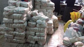 تحرير 38 قضية اتجار غير مشروع بالسلع التموينية في 3 أيام