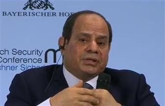 الرئيس السيسي: عدم استقرار بعض الدول العربية أدى لظاهرة الهجرة غير الشرعية إلى أوروبا
