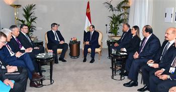 بسام راضي: الرئيس السيسي استقبل رئيس وزراء بافاريا الألمانية