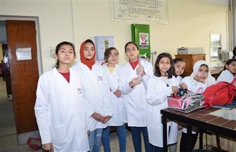 """""""علوم سوهاج"""" تنظم محاضرة في الكيمياء لطلاب جامعة الطفل   صور"""