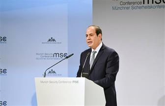 """""""المؤتمر"""": مشاركة السيسي في مؤتمر ميونخ ناجحة.. وتنقذ العالم من شرور الإرهاب"""
