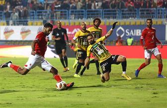 جهاز المنتخب المصري يحضر لقاء الأهلى والإنتاج الحربى