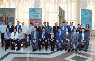 """""""الثقافي المصري"""" في كازاخستان ينظم برنامجا تدريبيا لتعليم اللغة العربية بالمحاكاة   صور"""