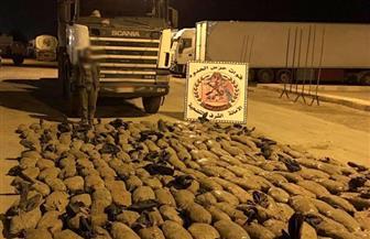 قوات حرس الحدود تضبط 24 عبوة ناسفة وتدمر 4 فتحات نفق وتحبط تهريب مليون قرص مخدر