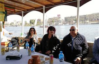 وزيرة الثقافة تحضر ديفيليه المراكب النيلية بأسوان | صور