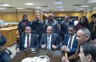 ضياء رشوان يستهل جولته الانتخابية بزيارة الأهرام