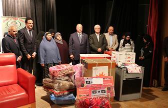 تسليم 91500 تابلت لطلاب الصف الأول الثانوي في القاهرة | صور