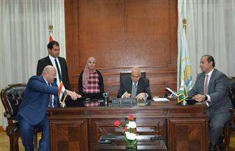 الجيزة توقع بروتوكولا مع صندوق تحيا مصر لإنشاء شارع 306 بالمحافظة | صور