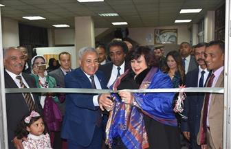 وزيرة الثقافة تفتتح معرض كتب الهيئة العامة لقصور الثقافة | صور