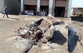 إزالة مغسلة سيارات في كفر الشيخ لإهدارها المياه.. والمحافظ: غرامة فورية للمهدرين | صور