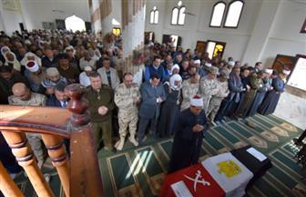 جنازة عسكرية لشهيد الواجب الوطني في البحيرة | صور