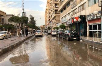 جهود لإزالة آثار الأمطار الغزيرة من مدن وقرى  كفر الشيخ | صور