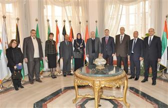 رئيس مجلس الدولة يستقبل نظيرته العراقية | صور