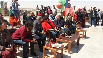 وزيرة الثقافة تزور متحف النيل بأسوان| صور