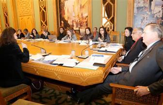 مساعد وزير الخارجية لحقوق الإنسان ومايا مرسي يجتمعان مع ممثلي السفارات الغربية والأمم المتحدة  صور