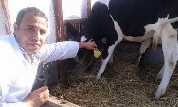 محافظ كفر الشيخ: تحصين 116 ألف رأس ماشية ضد أمراض الحمى القلاعية | صور