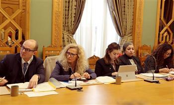 مايا مرسي: جميع الوزارات تتعاون في تنفيذ إستراتيجية تمكين المرأة 2030 | صور