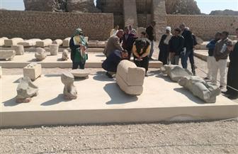 أمين المجلس الأعلى للآثار يتفقد أعمال ترميم معبد دندرة | صور