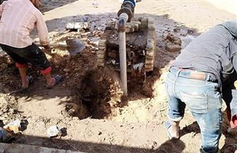أمانة مستقبل وطن: صيانة عاجلة لمدرسة 6 أكتوبر الجديدة بالحي السادس | صور
