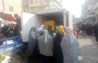 """""""مستقبل وطن"""" يوفر سيارات لبيع اللحوم  بأسعار مخفضة فى مراكز محافظة البحيرة"""