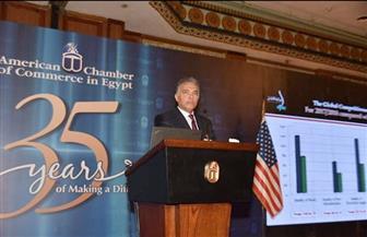 وزير النقل أمام الغرفة الأمريكية: مصر ستصبح مركزا دوليا لنقل التجارة العالمية