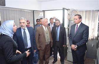 افتتاح مقر الجهاز المركزي للتعبئة والإحصاء بجامعة سوهاج   صور