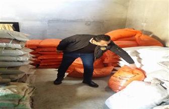 ضبط 500 كيلو مبيدات زراعية مدعمة بحوزة تاجر في طلخا