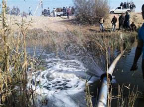 محافظ الشرقية يقررإصلاح وتوصيل خط مياه الشرب بالحسينية