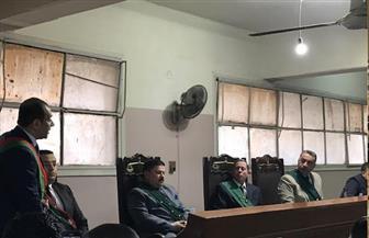 بدء أولى جلسات محاكمة الطبيب المتهم بقتل زوجته وأطفاله الثلاثة بجنايات كفر الشيخ  صور