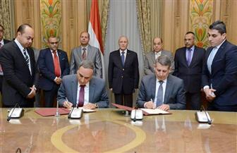 """سلامة أثناء توقيع """"بروتوكول الإنتاج الحربي"""": مصنع """"الأهرام"""" للورق يستهدف المنطقة العربية وإفريقيا"""