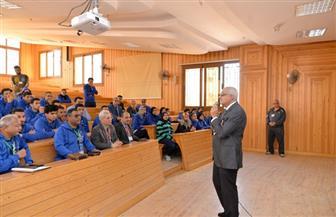 رئيس جامعة المنصورة يزور الفرق المشاركة بفعاليات أسبوع الشباببكفر الشيخ |صور