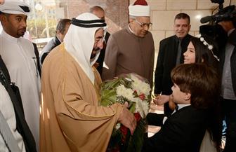 حاكم الشارقة: نقدر جهود شيخ الأزهر لترسيخ قيم السلام والأخوة الإنسانية |صور